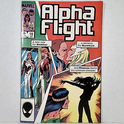 Alpha Flight - Vol. 1, No. 18 - Marvel Comics Group - January 1985 - No Reserve