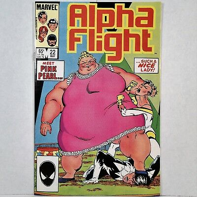 Alpha Flight - Vol. 1, No. 22 - Marvel Comics Group - May 1985 - No Reserve!