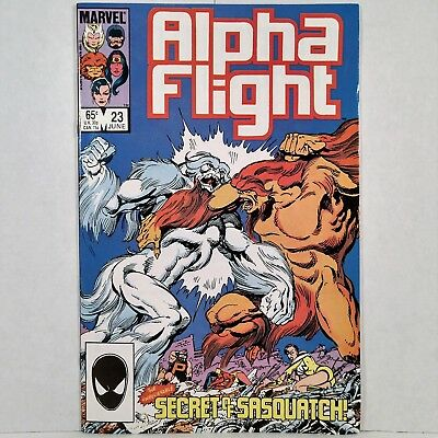 Alpha Flight - Vol. 1, No. 23 - Marvel Comics Group - June 1985 - No Reserve!