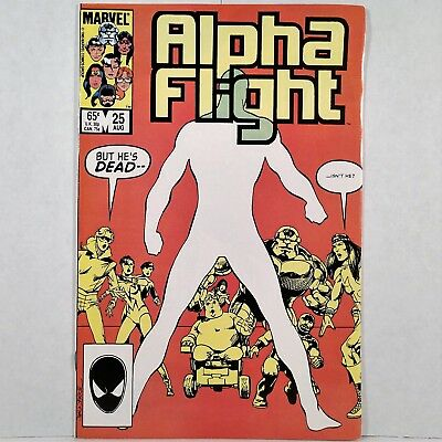 Alpha Flight - Vol. 1, No. 25 - Marvel Comics Group - August 1985 - No Reserve!