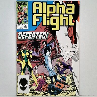 Alpha Flight - Vol. 1, No. 26 - Marvel Comics Group - Sept. 1985 - No Reserve!