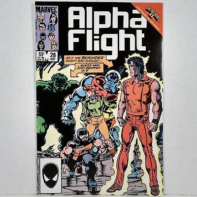 Alpha Flight - Vol. 1, No. 28 - Marvel Comics Group - November 1985 - No Reserve