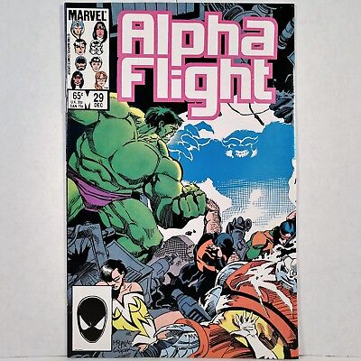 Alpha Flight - Vol. 1, No. 29 - Marvel Comics Group - December 1985 - No Reserve