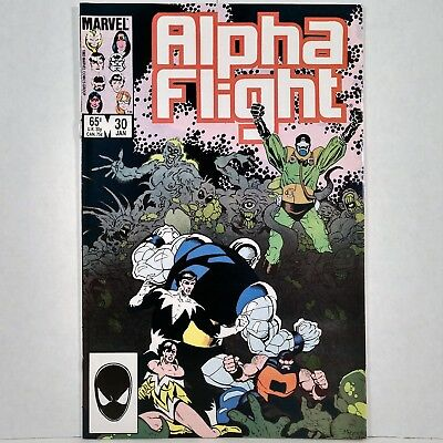 Alpha Flight - Vol. 1, No. 30 - Marvel Comics Group - January 1986 - No Reserve!