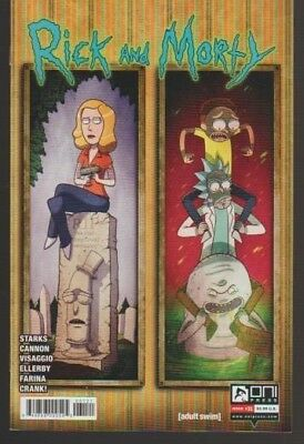 Rick & Morty # 31 Mike Vasquez Variant!! 2017 L@@k!! Very Fine Plus