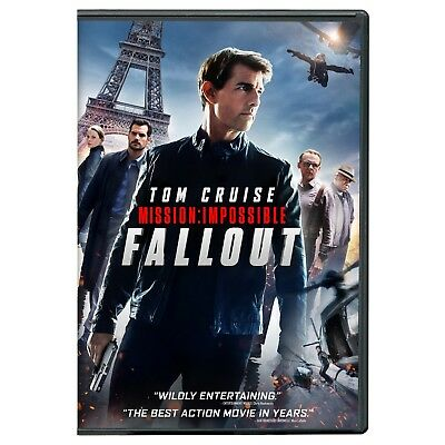 Mission: Impossible - Fallout (DVD 2018) New & Sealed FREE Shipping!