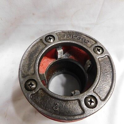 "Ridgid 12R 2"" Threading Die (needs new teeth)"