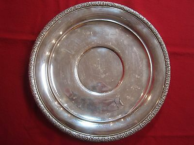 Beautiful Vintage Gorham Silverplate Serving Tray - YC963 -Excellent Condition!