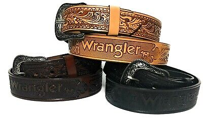 MEN'S WESTERN LEATHER BELT.1.5 inch wide HAND CRAFTED COWBOY RODEO BELT