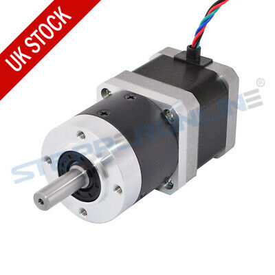 5:1 High Precision Planetary Gearbox Nema 17 Gear Stepper Motor High Torque CNC