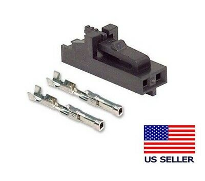 Lot of 5 Sets SL Series Female Molex Connector Housing Polarized Latch 2-Pos