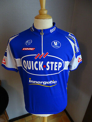 Maillot Cyclisme Cycliste Quick Step Innergetic Xxl/6/54 2006 Boonen