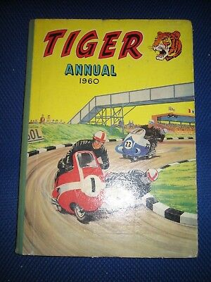 Tiger Annual 1960 - unclipped and no writing inside