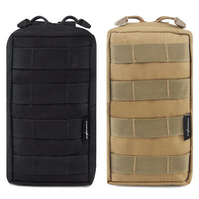 Tactical Molle Pouch Accessory Bag Military Sundries With Belt Clip Pocket Tool