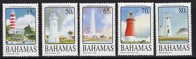 Bahamas Sg1351/5 2004 Lighthouses Mnh