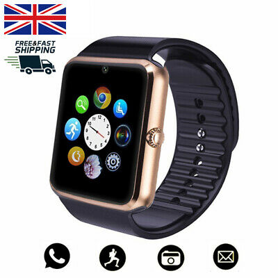 GT08 Smart Watch Phone & Camera Bluetooth Apple & Android Compatible 2018 New