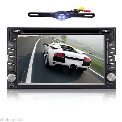 """6.2""""Android7.1 2Din Car Stereo DVD Player Bluetooth Wifi 4G In Dash GPS Navi+Cam"""