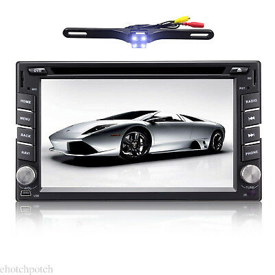 """6.2"""" Android 7.1 In Dash HD 2Din Car Stereo DVD Player GPS WiFi BT OBD 4G Radio"""