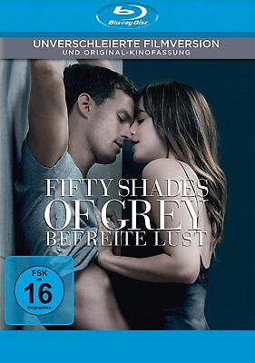 Fifty Shades of Grey 3 - Befreite Lust - Unverschleierte Filmvers. * BLU-RAY-NEU