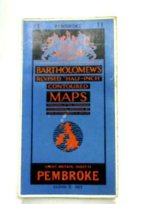 Revised Half-Inch Contoured Maps Great Britain Sheet 11 (Anon - 1957) (ID:83674)
