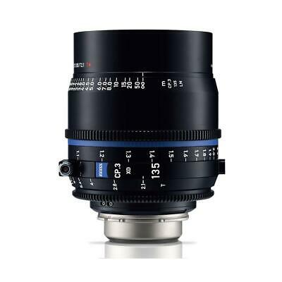 Zeiss 135mm T2.1 CP.3 XD Compact Prime Cine Lens (Feet) with PL Bayonet Mount