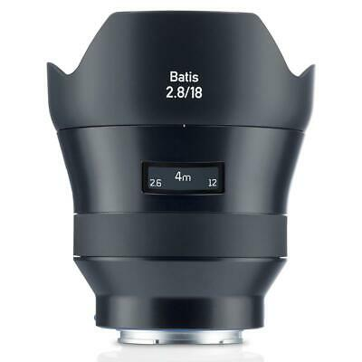 Zeiss 18mm f/2.8 Batis Series Lens for Sony Full Frame E-mount NEX Cameras