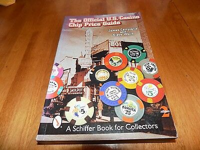 THE OFFICIAL U.S. CASINO CHIP PRICE GUIDE Poker Chips Collector 2nd Ed. Book