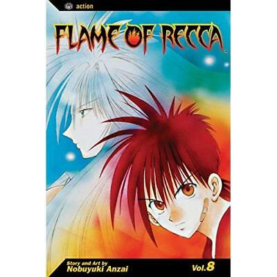 Flame of Recca: v. 8 (Flame of Recca) - Paperback NEW Anzai, Nobuyuki 2008-10-06