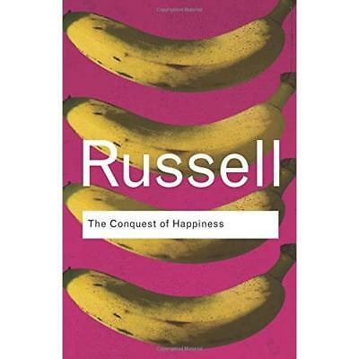 The Conquest of Happiness (Routledge Classics) - Paperback NEW Russell, Bertra 2
