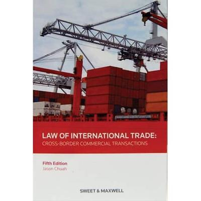 Law of International Trade - Paperback NEW Jason Chuah (Au 2013-05-24
