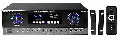 Rockville SingMix Bluetooth Karaoke Amplifier Mixer For Vocopro SV-500 Speakers