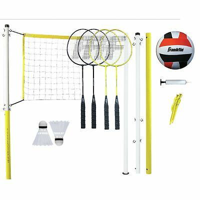 Franklin Sports Family Badminton & Volleyball