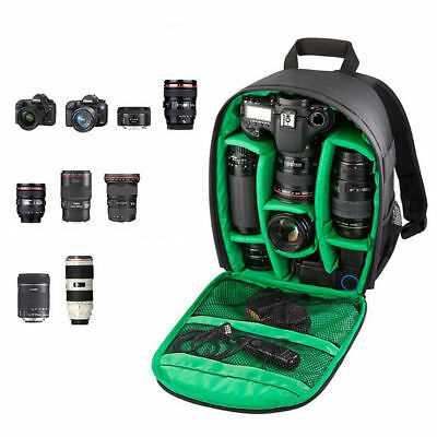 DSLR Camera Backpack For Nikon Canon Shoulder Bag Compact Photograph Waterproof