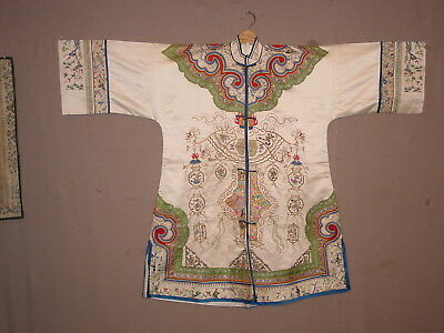 Wonderful Beauty Partly Antique  Chinese Silk Embroided Jacket ***hg***