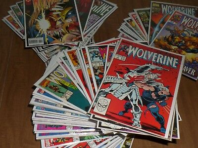 WOLVERINE (Marvel, 1988) Huge Lot of 157 Comics, X-Men, Weapon X, Long Runs/Sets