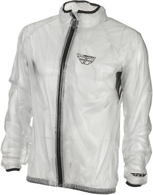 Fly Racing Rain Jacket Clear X-Large
