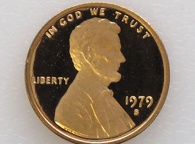 1979-S Lincoln Cent Type 2 DCAM Proof Brilliant Uncirculated E4568