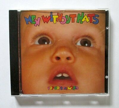 Men Without Hats - Pop Goes The World - 1987 CANADIAN CD - Mercury - 832 730-2