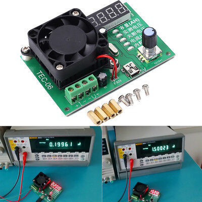 TEC-06 Battery Capacity Tester 16W Electronic Load Max 500AH LED Display w/ Fan