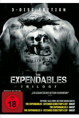 FSK18- The Expendables Trilogy (DVD Video)