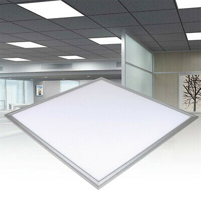 36W/48W LED Panel Ceiling Suspended Light Flat Tile White Home Warehouse Garage