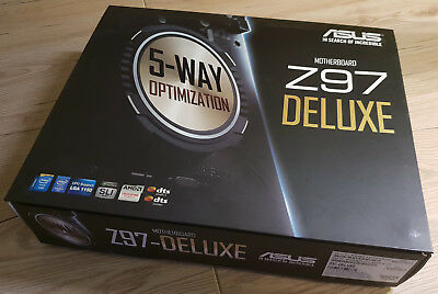ASUS Z97-Deluxe Mainboard (ATX / LGA1150 / Wifi / Bluetooth / !TOP!)