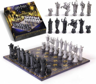Harry Potter Wizard Chess Set Deluxe Edition The Noble Collection Quality Heavy