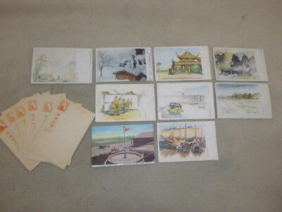 Ww 2 Assortment Of Colorful Japanese Military Post Cards