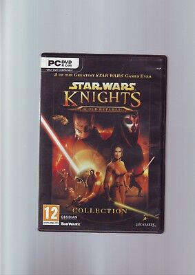 Star Wars : Knights Of The Old Republic Collection 1 & Ii 2 Pc Games - Complete
