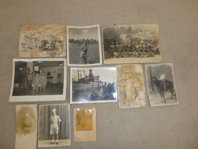 Great Ww 2 Assortment Of Vintage Photos Of Japanese Soldiers