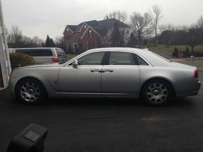 2012 Rolls-Royce Ghost Silver vehicles- Rolls Royce Ghost 2012 - Silver