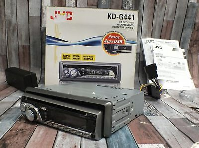 JVC KD-G441 Car Stereo Head Unit With CD USB & MP3 Player 50Wx4 In Box - C45