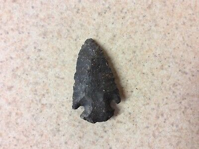 American Indian Stone Artifact Arrowhead Spear  Medium  Size Authentic Indiana