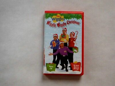 The Wiggles - Wiggly, Wiggly Christmas Vhs Video (2002)